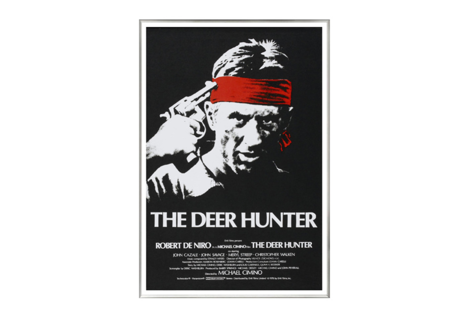 El cazador (The deer hunter, 1978) Cartel Enmarcado en Aluminio